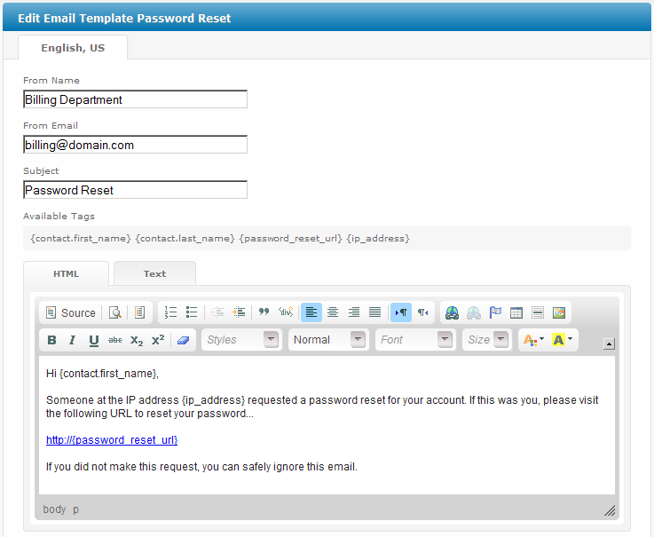 Password Reset (Client) - User Manual - Confluence