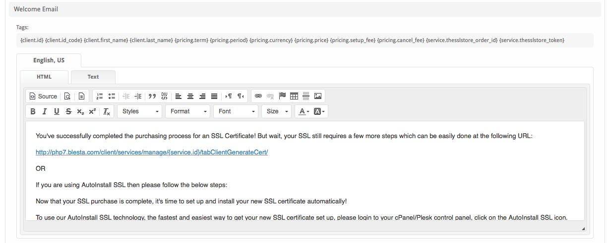 The SSL Store - User Manual - Confluence