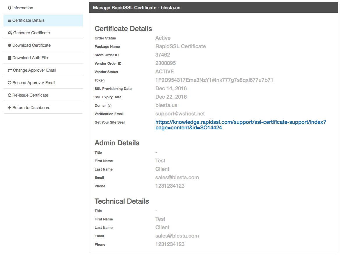 The ssl store user manual confluence click here to see client management screenshots 1betcityfo Choice Image