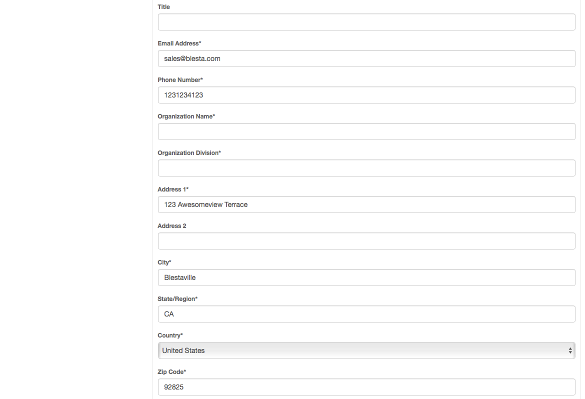 Click Here To See Client Management Screenshots.